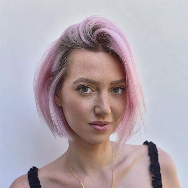hot short pink