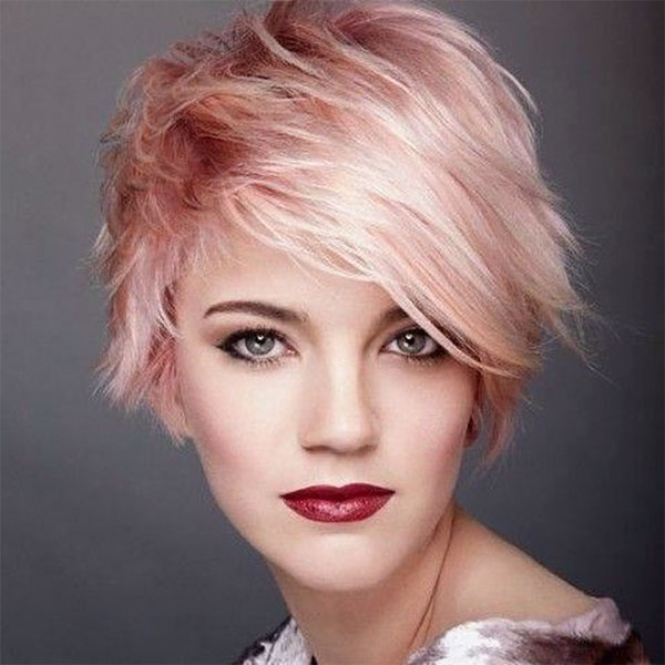 images of short pink hair