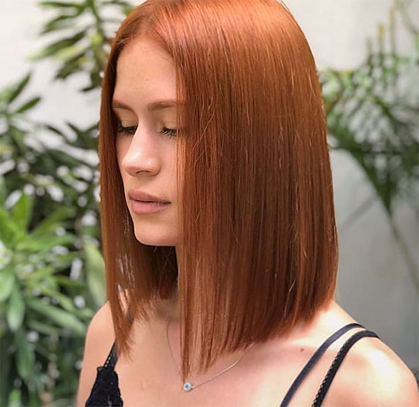 pics of red hair color