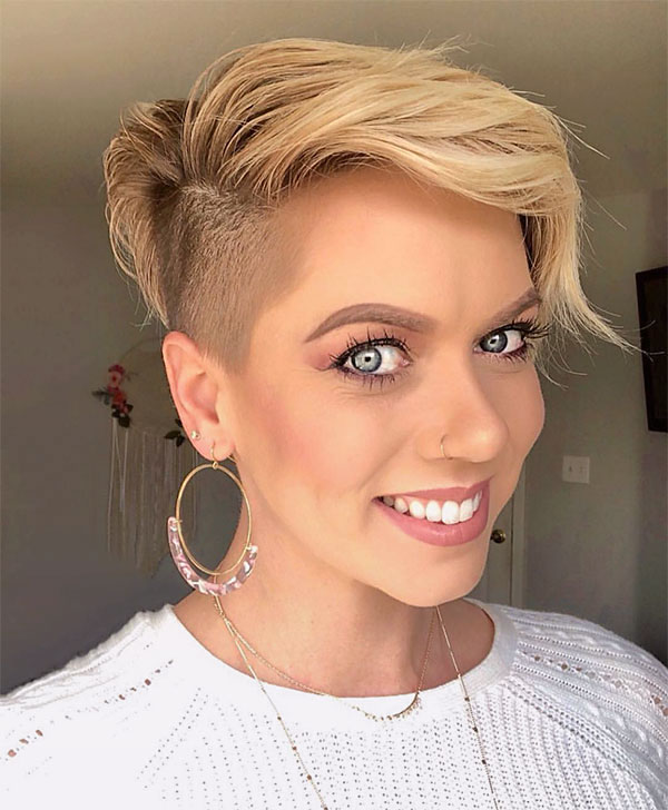 pictures of short blonde haircuts