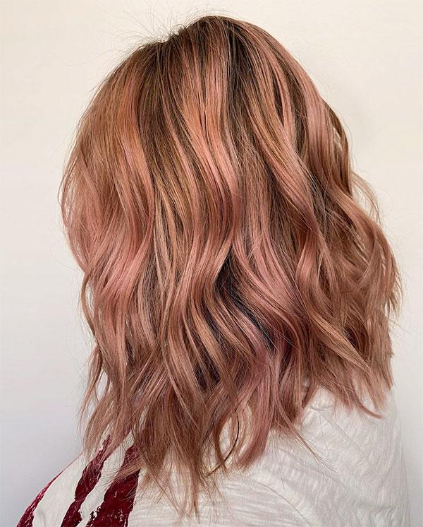 pink hair ideas short