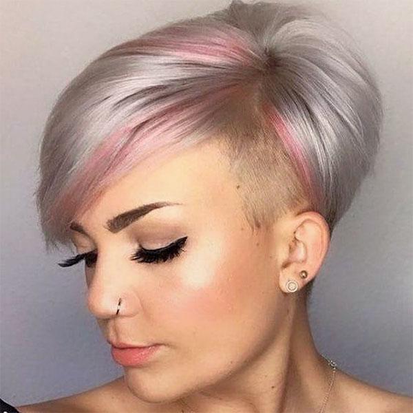 pink haircuts
