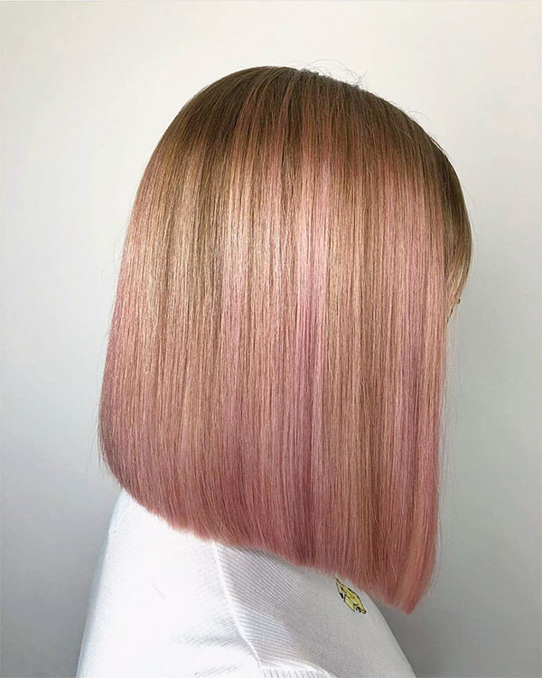 pink hairstyle ideas