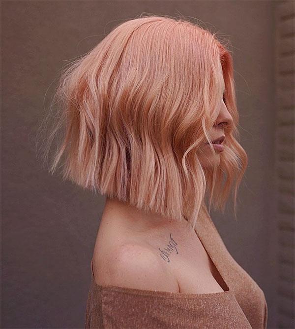 pink short cut