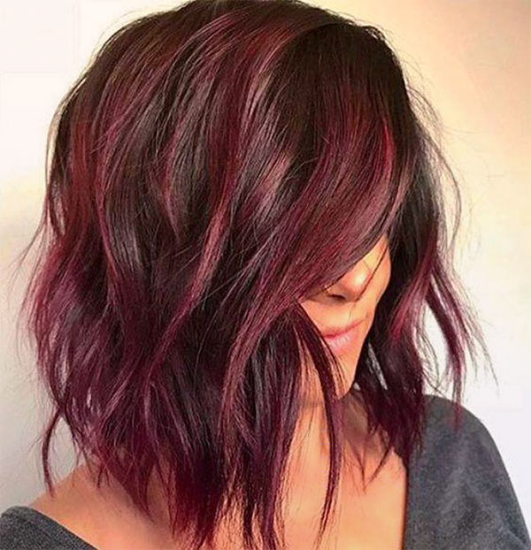 red fall hair colors