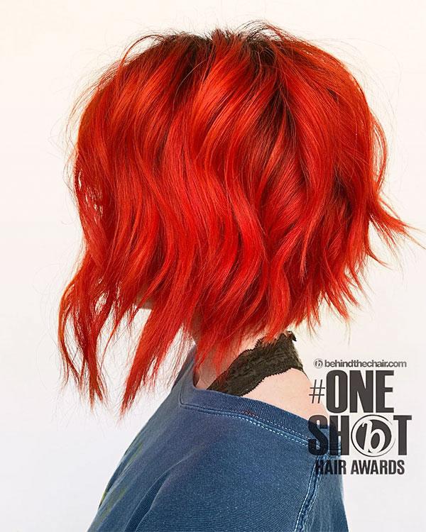 red hair designs