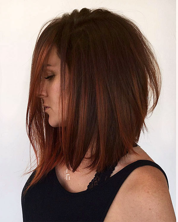 red hair hairstyles