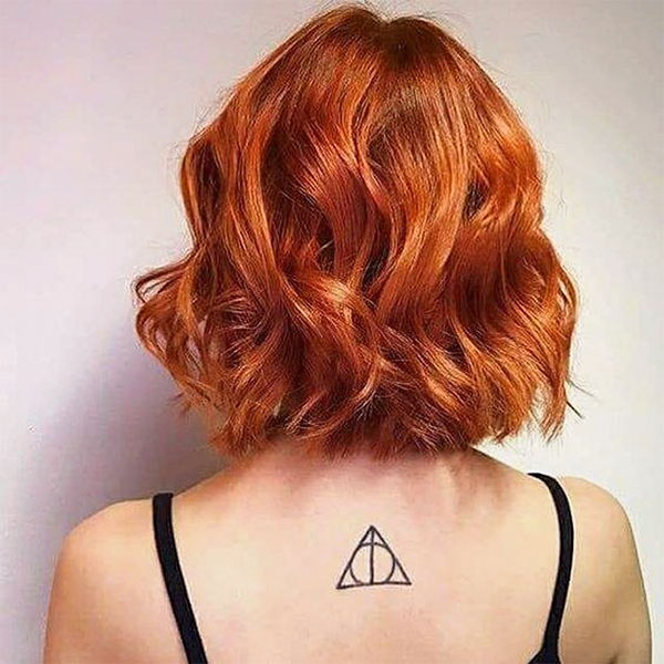 red style hair