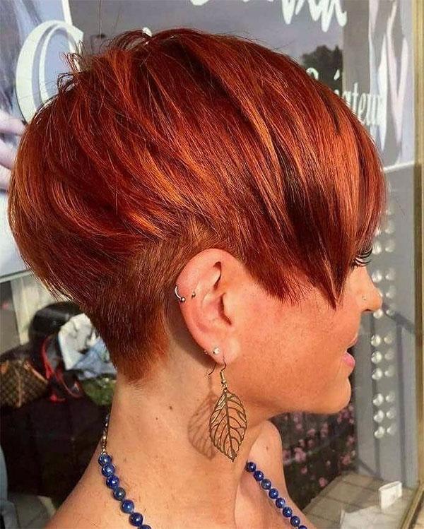 redhead hair color