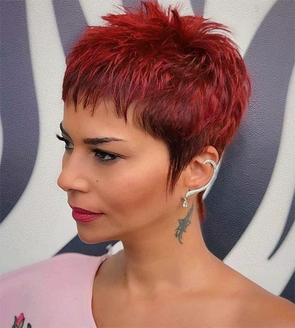 redhead hairstyles female