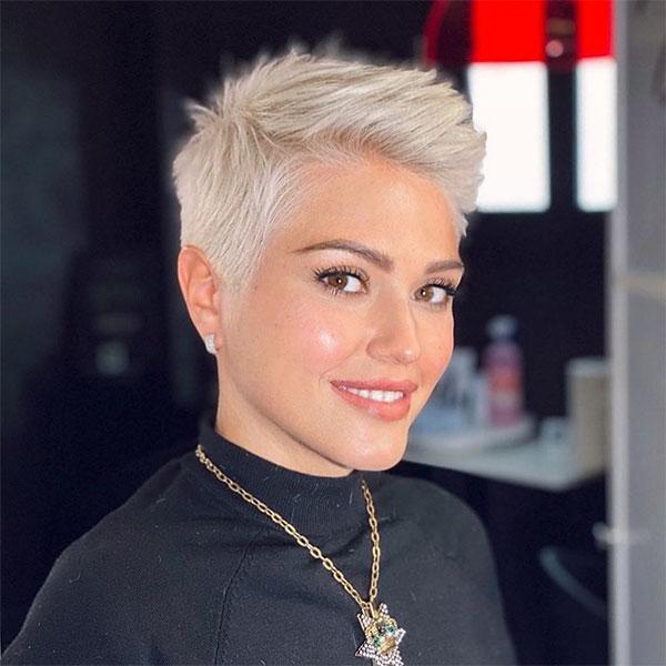 short blond hair cuts