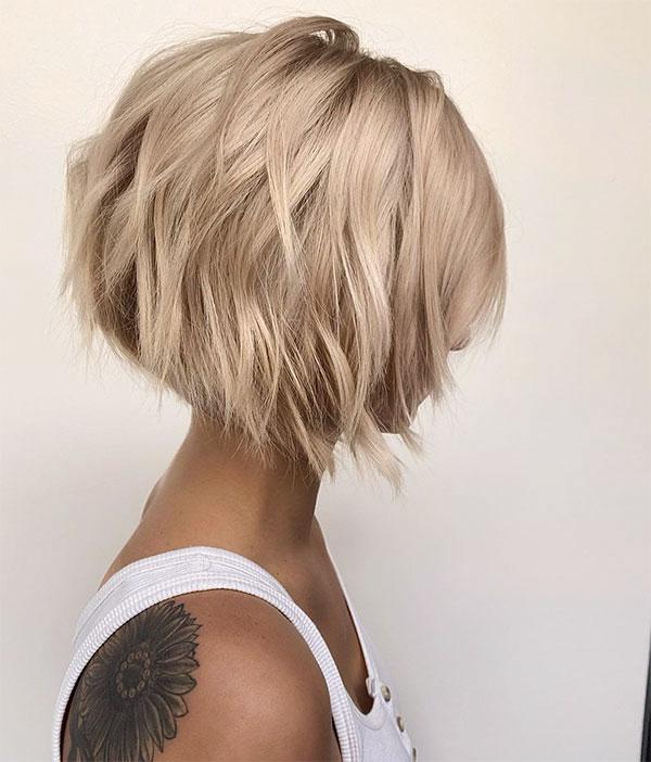 short blonde hair styles