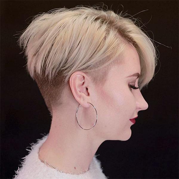 short blonde hair women