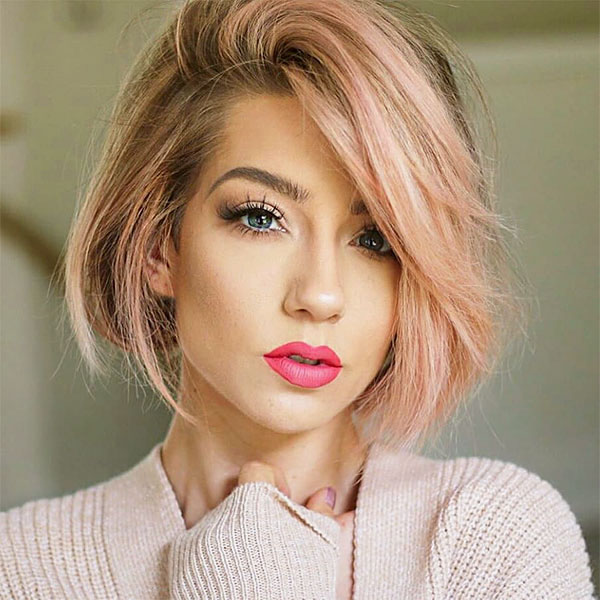 short cut pink