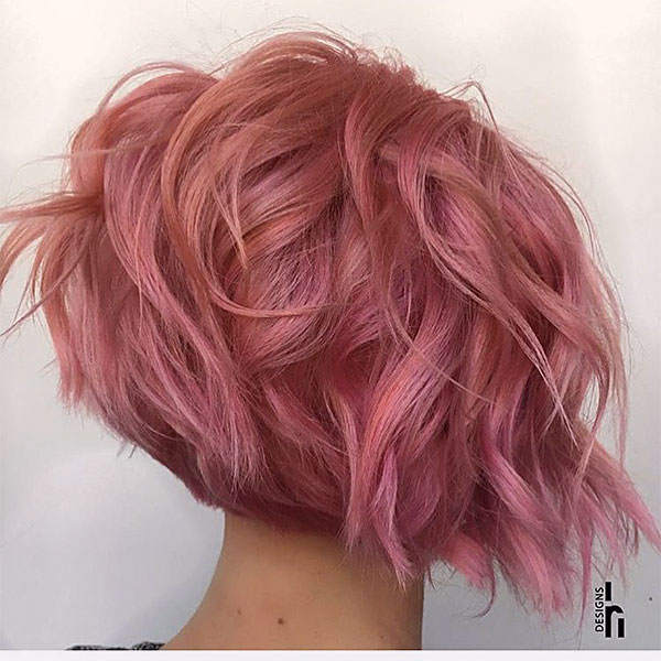 short cute pink