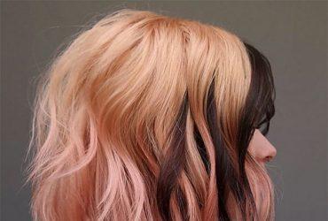 short hair cut pink