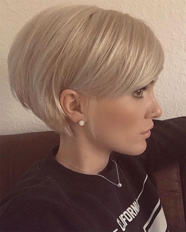 short hair cuts blonde