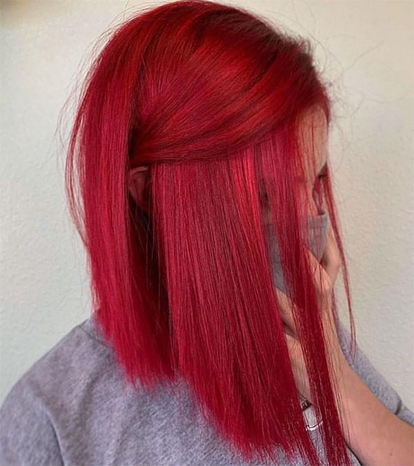 short hair styles red hair