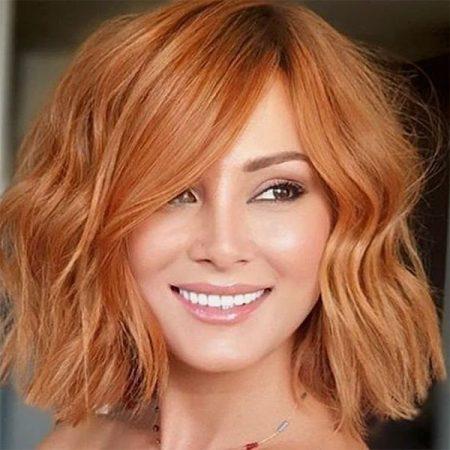 short haircuts red hair