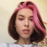 short pink womens hairstyles
