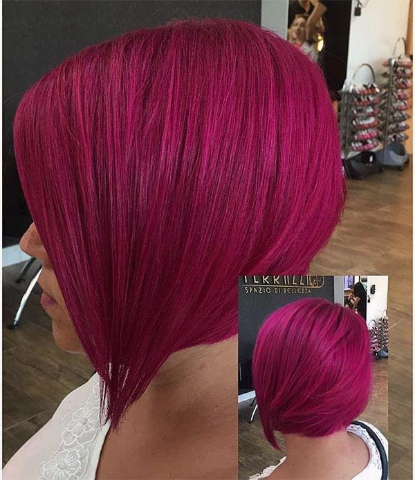 short red hair female