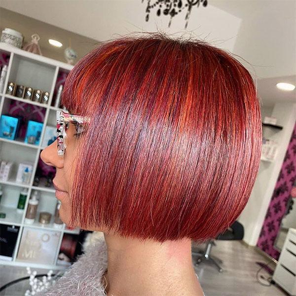 unique red hair color ideas