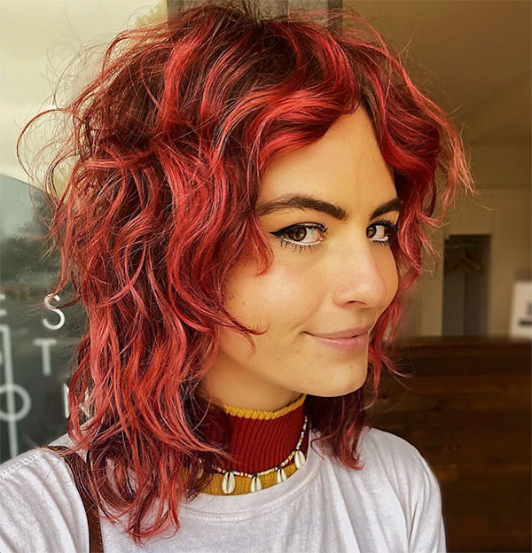 women's short red hairstyles